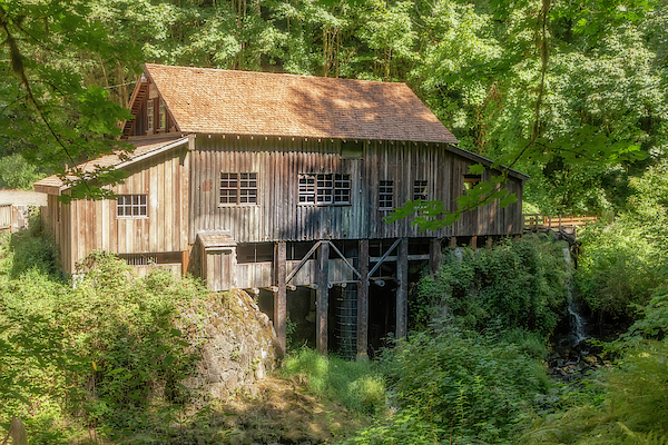 Cedar Creek Grist Mill by TL Wilson Photography by Teresa Wilson
